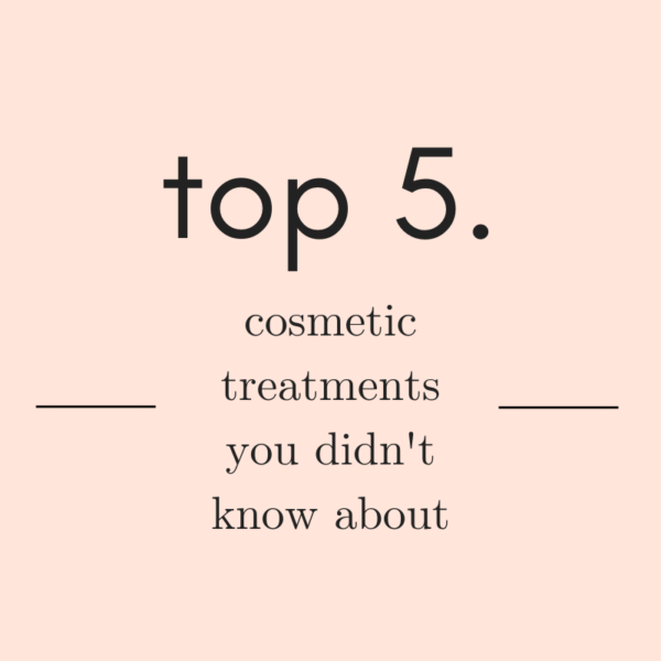 Top 5 – Cosmetic tricks